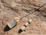 アクアマリン原石のペンデュラム